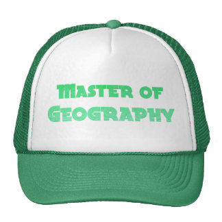 Geography Hats