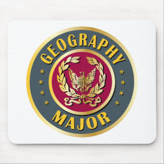 Geography Major Mouse Pad