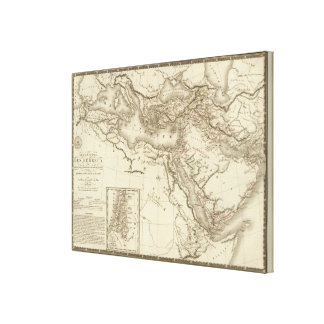 Geography of Hebrews Gallery Wrapped Canvas