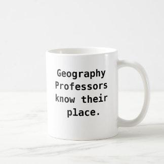 Geography Professor Funny Quote Joke Pun Coffee Mug
