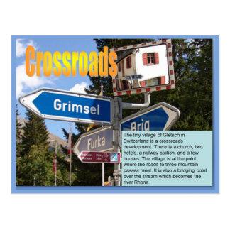 Geography, Social studies, Crossroads developments Postcard