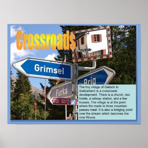 Geography, Social studies, Crossroads developments Posters