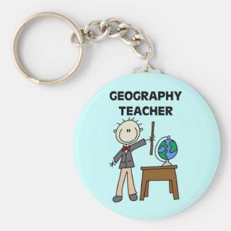 Geography Teacher Key Ring