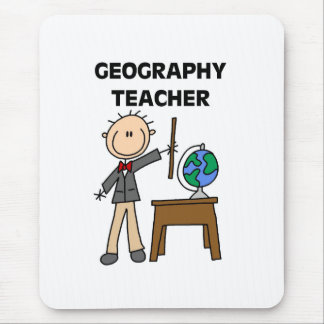 Geography Teacher Mouse Pad