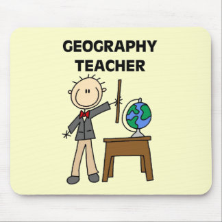 GEOGRAPHY TEACHER Tshirts and Gifts Mousepad