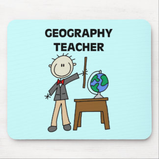 GEOGRAPHY TEACHER Tshirts and Gifts Mousepads