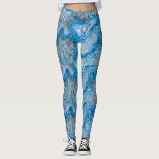 Geoid print leggings