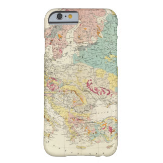 Geological map Europe Barely There iPhone 6 Case