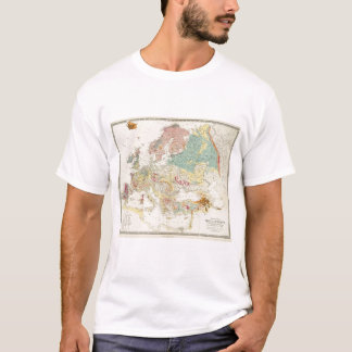 Geological map Europe T-Shirt