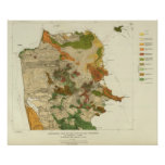 Geological map San Francisco