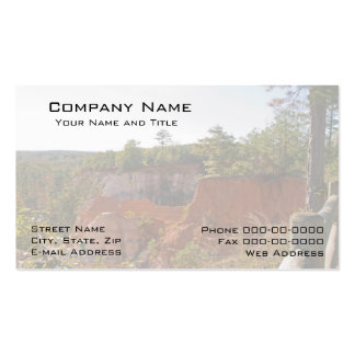Geologist Business Card