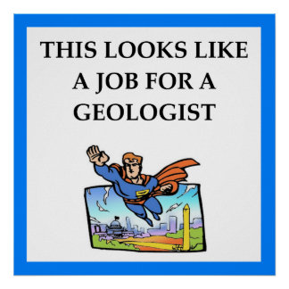 geologist poster