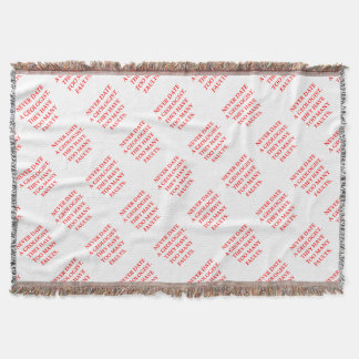 GEOLOGIST THROW BLANKET