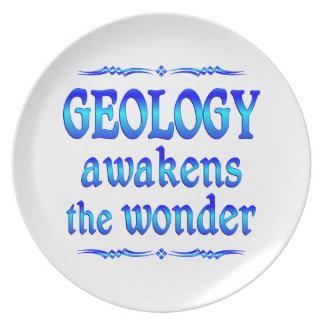 Geology Awakens Dinner Plate