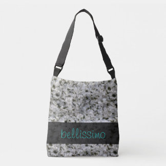 Geology Granite Rock Texture any Text Crossbody Bag