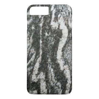 Geology Grey Rock with Feline Pattern iPhone 7 Plus Case