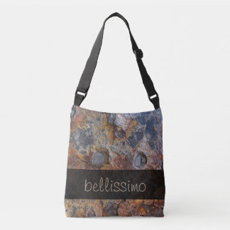 Geology Grungy Rock Texture any Text Tote Bag