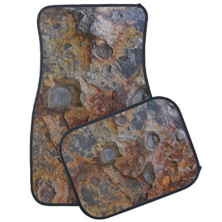 Geology Grungy Rock Texture Car Mat
