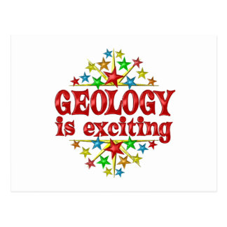Geology is Exciting Postcard