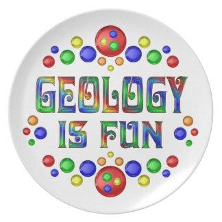 Geology is Fun Plate