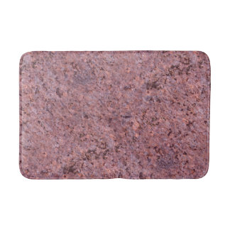 Geology Nature Photo Pink Rock Texture Bath Mats
