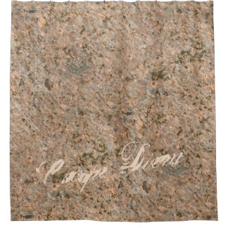 Geology Nature Photo Rock Texture any Text Shower Curtain