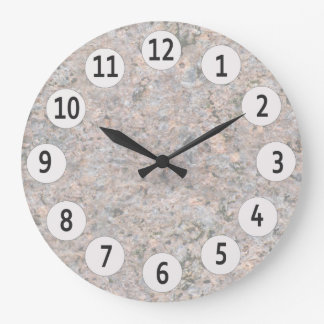 Geology Nature Photo Rock Texture Clock