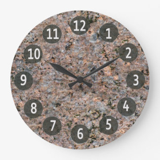 Geology Nature Photo Rock Texture Wallclocks