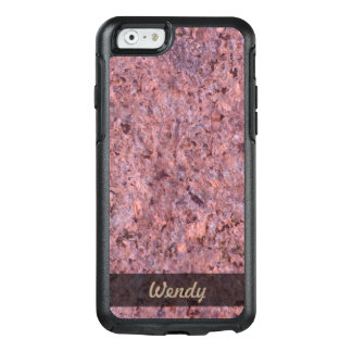 Geology Pink Rock Texture Photo OtterBox iPhone 6/6s Case