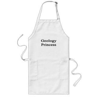 Geology Princess Long Apron
