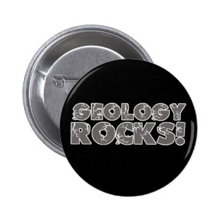 Geology Rocks 6 Cm Round Badge