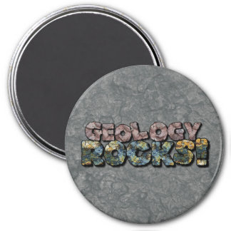 Geology Rocks! Button Magnet