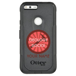 Geology Rocks! Hammer Badge OtterBox Commuter Google Pixel XL Case