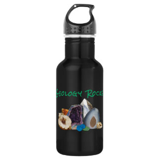 Geology Rocks! Reusable Water/Sport Bottle