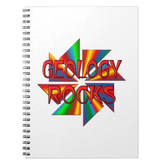 Geology Rocks Spiral Notebook