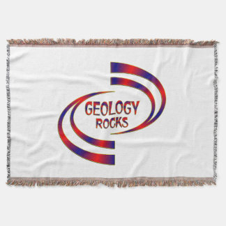 Geology Rocks Throw Blanket