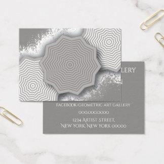 Geometeric Art Design Business Card