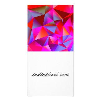 geometric 05 hot picture card