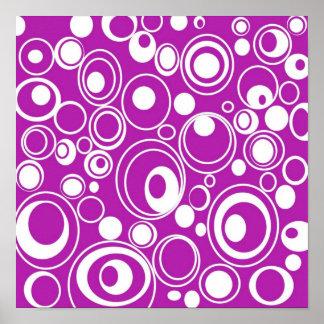geometric-19698 GROOVY BACKGROUND PATTERN WALLPAPE Print