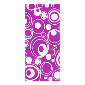 geometric-19698 GROOVY BACKGROUND PATTERN WALLPAPE Full Color Rack Card