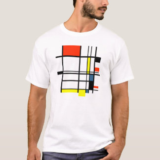 Geometric a la Mondrian T-Shirt