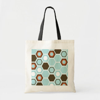 Geometric Abstract Art Design Canvas Bags