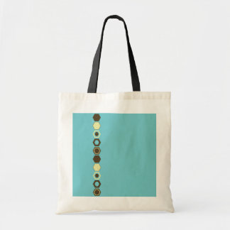 Geometric Abstract Art Design Tote Bags