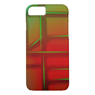 Geometric Abstract Digital Art iPhone 8/7 Case