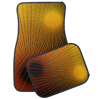 Geometric abstract. floor mat
