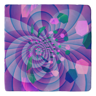 Geometric Abstract Trivet