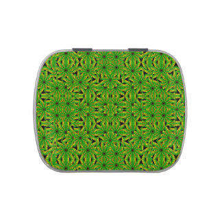 Geometric African Print Jelly Belly Tin
