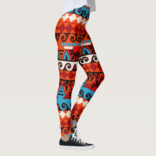 Geometric African Tribal Inspired Leggings