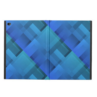 Geometric Art Blue Blocks Powis iPad Air 2 Case