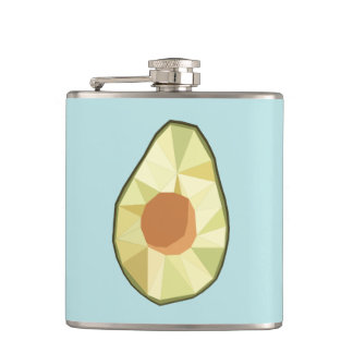 Geometric Avocado Flask [BLUE]